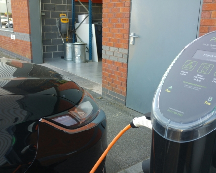 Pentaxia Drives Sustainability by Installing POD Points