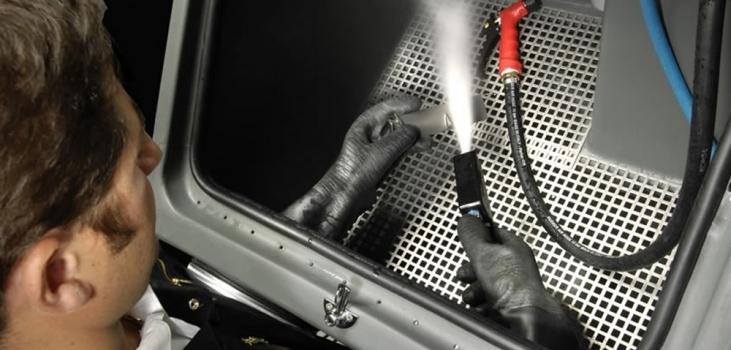 Vapour Blasting Machine Addition