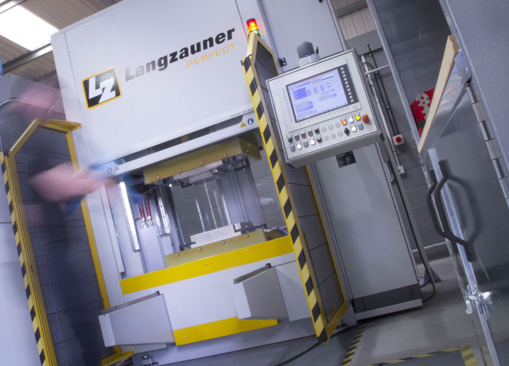 New Langzauner Press delivery in two weeks