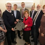 VIP visit from IMechE president, Carolyn Griffiths with managing director Stephen Ollier and the Penatxia team