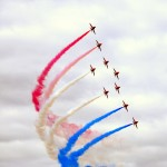 red-arrows farnborough
