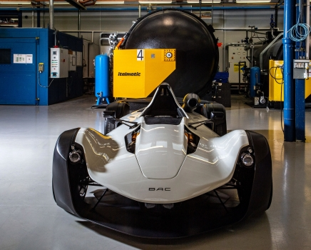 Showcasing the BAC Mono R at Advanced Engineering Show
