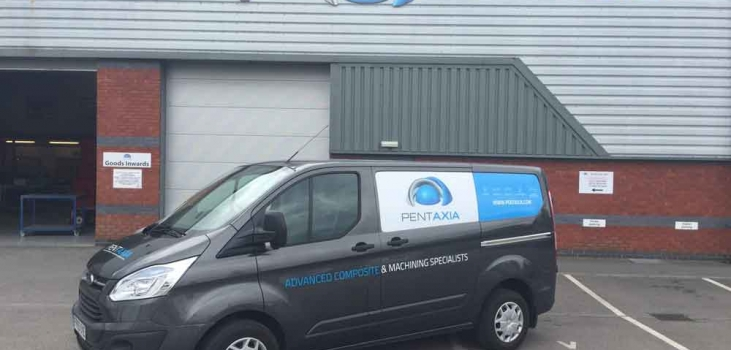 Our New Branded Van Has Arrived